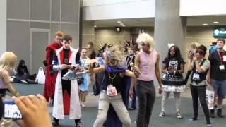 Anime Expo 2012 Day Two - Yu-Gi-Oh! Cosplay