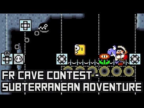 FR Cave Contest - Subterranean Adventure • Super Mario World ROM Hack