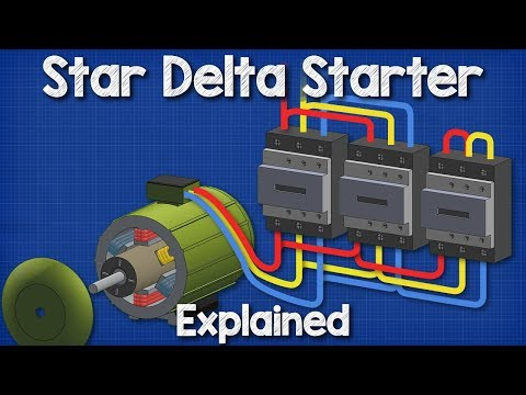 Star Delta Starter Explained - Working Principle