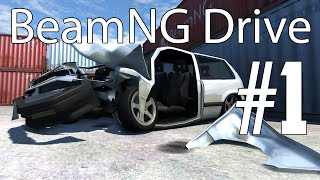 BeamNG Drive Gameplay - Part 1 - NEW COMPUTER FTW!! w/ Hypercore Ripper