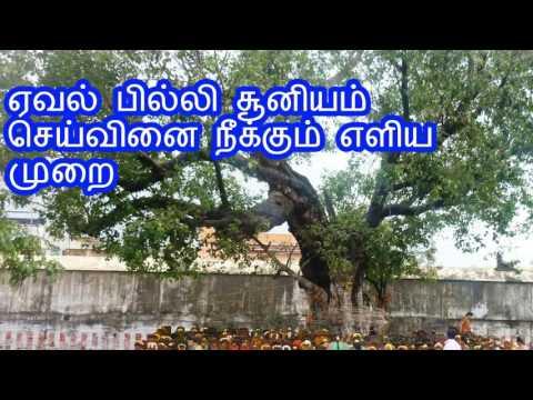 ஏவல் பில்லி சூனியம் செய்வினை நீக்கும் எளிய முறை Pilli soonyam removal in tamil
