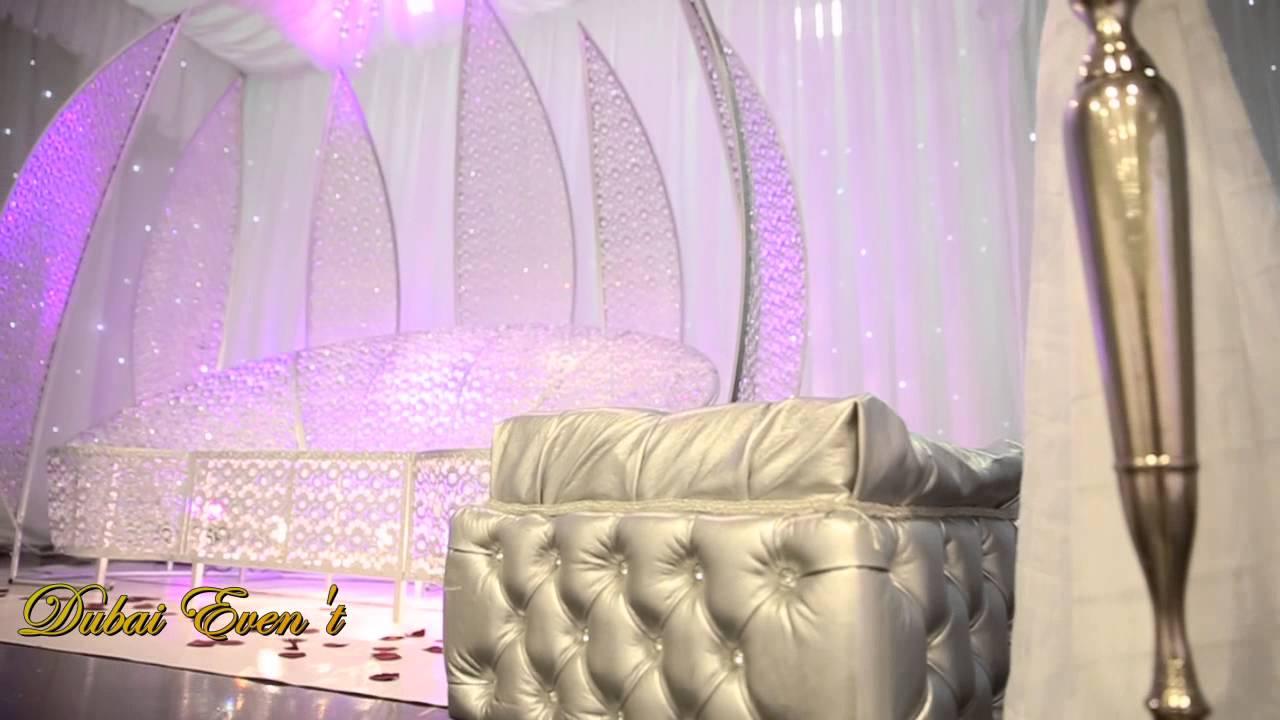 un mariage de princesse avec aline lahoud avec un magnifique un trne en cristal - Trone Mariage Oriental