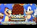 Sonic Generations PC - (1080p 60FPS) Super Mario 1-1 w/Mario Sonic