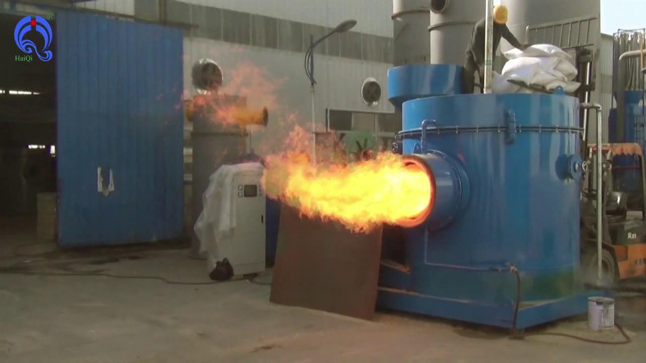 6000000Kcal Industry wood pellet burner, industrial wood ...