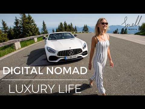 Digital Nomad Luxury Life