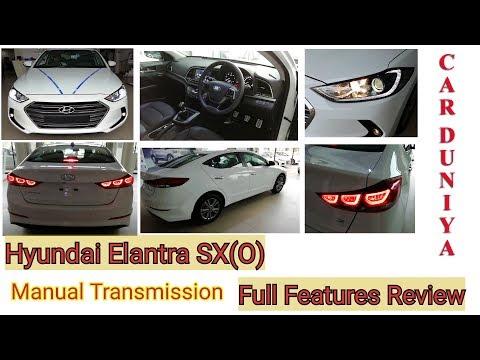 Hyundai Elantra SX(O) Manual Transmission Review