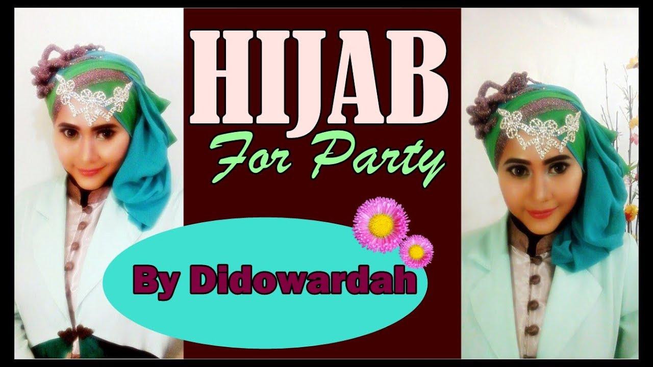 Tutorial Hijab Pesta Terbaru Untuk Wisuda By Didowardah Part 54