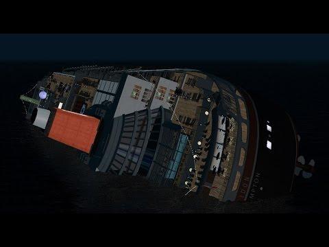 Poseidon capsizing ~ Virtual Sailor 7