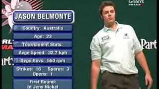2007 World Tenpin Masters Quarter Final 2 Belmonte vs Al Sheikh Part 1