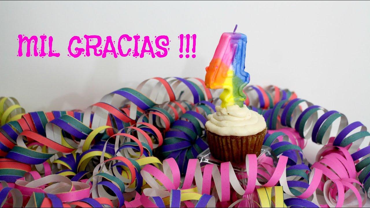 Cuarto aniversario creaciones izzy mil gracias youtube for Cuarto aniversario
