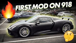 ATTEMPTING TO MOD THE PORSCHE 918...