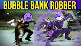 STEALING Enemy Motes w/ Ward Of Dawn - Bank Robber Build - Destiny 2 Gambit Prime
