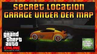 GTA 5 Online NEUE SECRET LOCATION | GARAGE UNTER DER MAP | Geheimer Ort HD