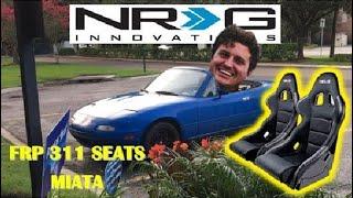NRG nrgFRP-311 FRP Bucket Seat