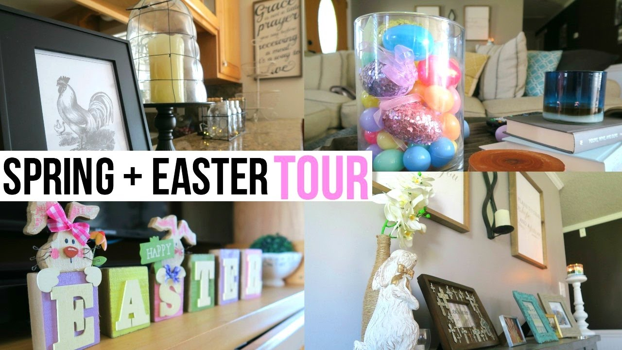 Spring Easter Home Tour 2017 Rustic Chic Decor Page