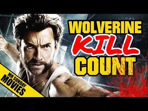 WOLVERINE Movie Kill Count Supercut