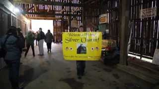 Silver Charm arrives at Old Friends