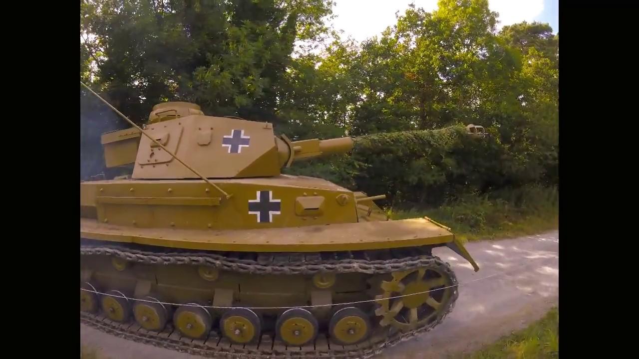 WWII Tank replica