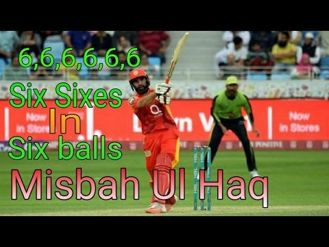 Misbah Ul Haq Blast | Six 6's in Six Balls | Hong kong Blitz T20 League 2017 | Cric Special #2