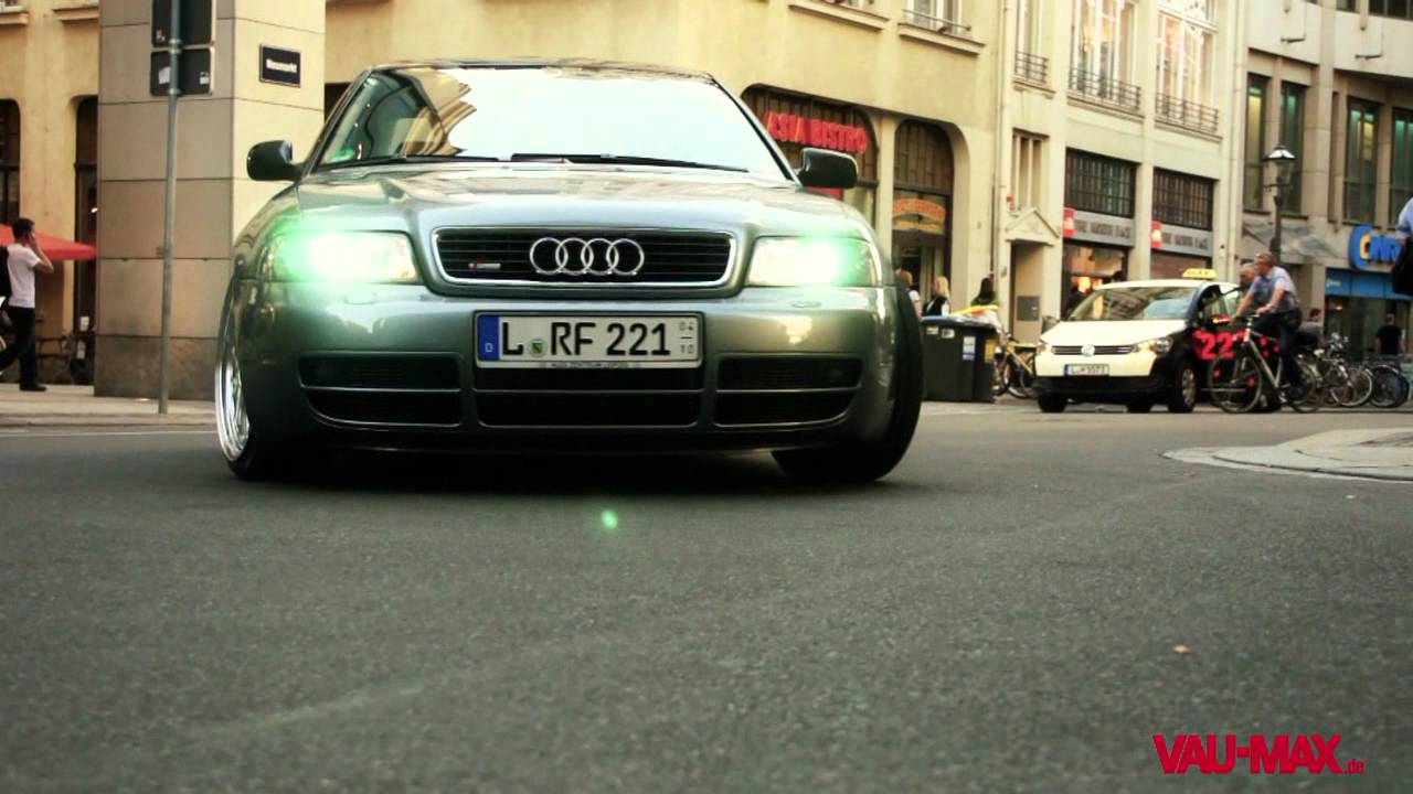audi a4 b5 tuning powered by vau ps grafix youtube. Black Bedroom Furniture Sets. Home Design Ideas