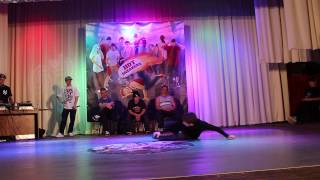 Kid rock (ATM) Win vs Klim (X Makers) Solo battle| Hot Sneakers(17 мая г. Красноград (Харьковская область), Брейкданс фестиваль Hot Sneakers https://vk.com/hot.sneakers., 2014-08-07T11:37:35.000Z)