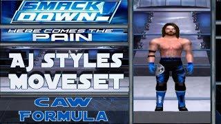 AJ Styles Moveset (سماكدوون! هنا يأتي الألم)