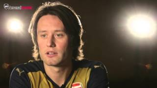 Tomas Rosicky: Mixtapes... does he pick Drake?