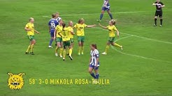 Ilves Naiset - HJK 4-1 (1-0) 28.5.2016 Naistenliiga kooste
