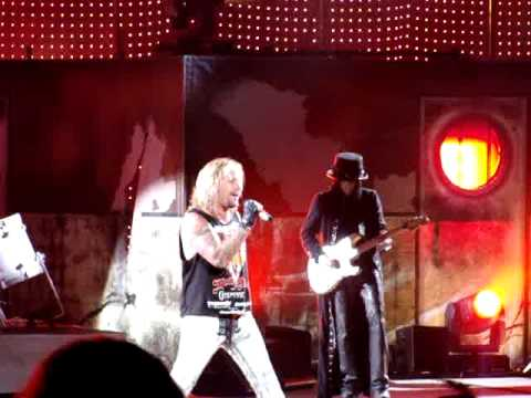 Sticky Sweet - Motley Crue - Live in Chicago on July 22, 2009
