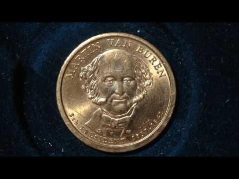 Presidential Dollar Coin: 2008 Martin Van Buren