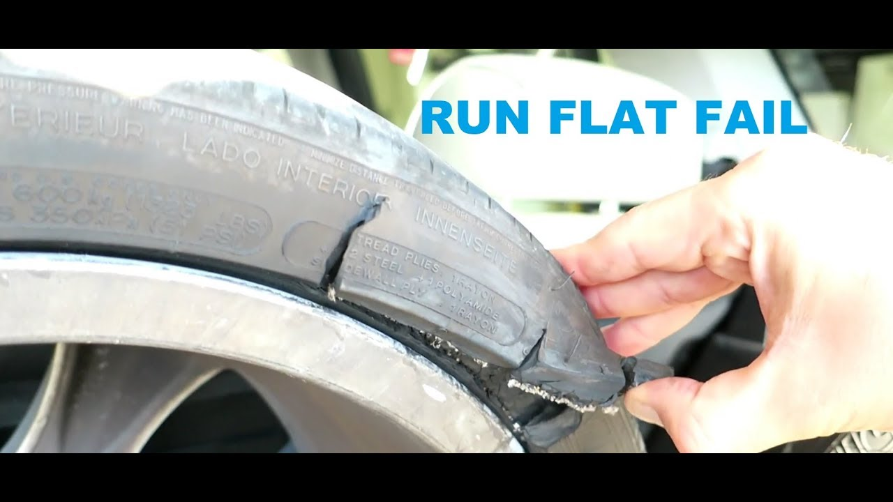 Don't Bother Buying Run Flat Tires