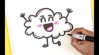 cloud happy draw easy