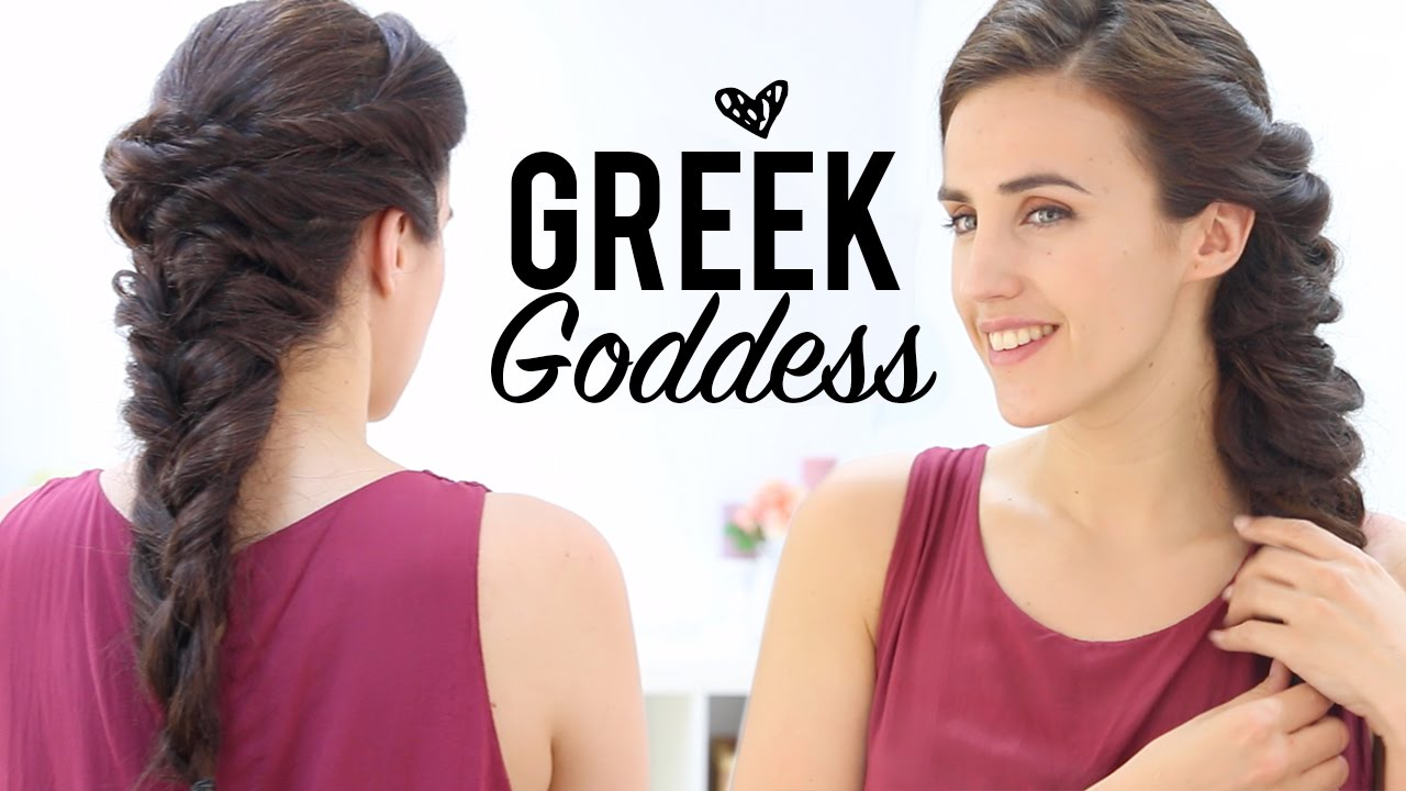 greek goddess hairstyles tutorial