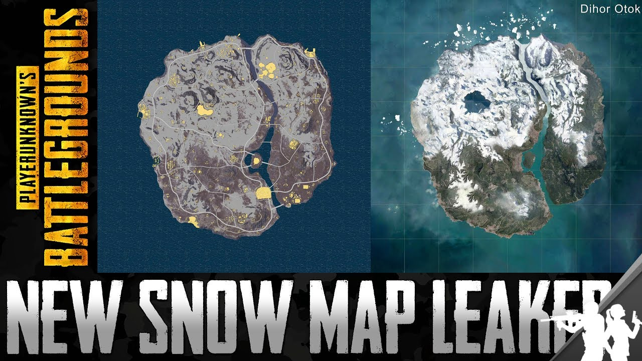 The Perfect PUBG Map Is Coming New Leaked Snow Map