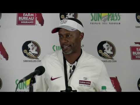 Florida State Seminoles head football coach Willie Taggart on season-ending loss to Florida