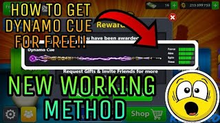 8BP - [READ DESCRIPTION] -HOW TO WIN DYNAMO CUE FOR FREE!! - WORKS FOR EVERYONE! - NEW METHOD!!