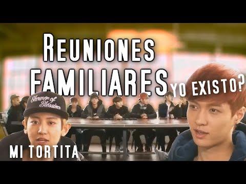 EXO Y SUS REUNIONES FAMILIARES