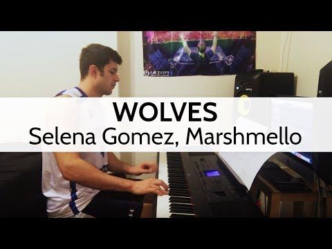 """""""Wolves"""" - Selena Gomez, Marshmello - Piano Cover by Niko Kotoulas"""