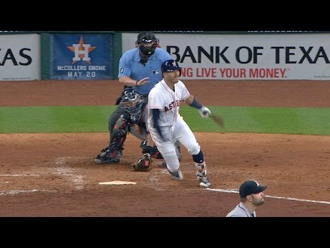 5/10/17: Correa, Springer Lead Astros To 4-2 Win
