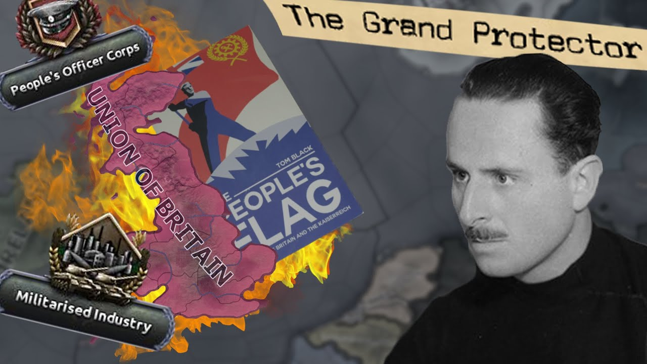 Reproducem acțiunea din The People's Flag pe HOI4 Kaiserreich