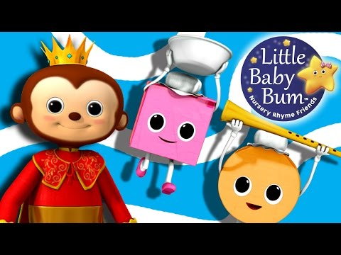 Old King Cole | Nursery Rhymes | By LittleBabyBum!