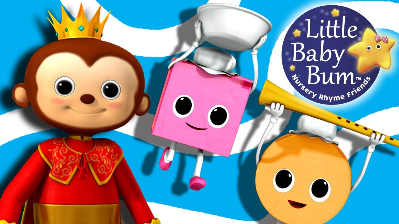 Old King Cole Nursery Rhymes By Littlebabybum Youtube