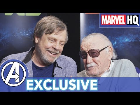 Stan Lee & Mark Hamill Hang Out! | Marvel's Avengers: Black Panther's Quest