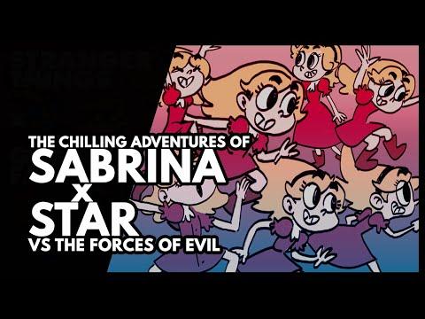 SABRINA Cartoon Intro [Star vs The Forces of Evil Mash-up]