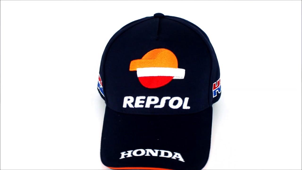 Gorra Repsol Honda Team Oficial 2017 Equipo - YouTube 529347f152a