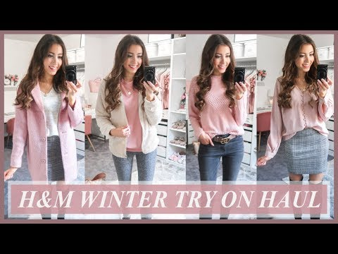 H&M TRY ON HAUL 2019 | WINTER CLOTHING HAUL