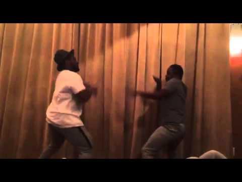 Kendrick Lamar And Schoolboy Q Fight (Funny, 2015)