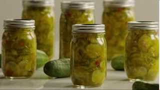 How To Can - Bread And Butter Pickles Recipe