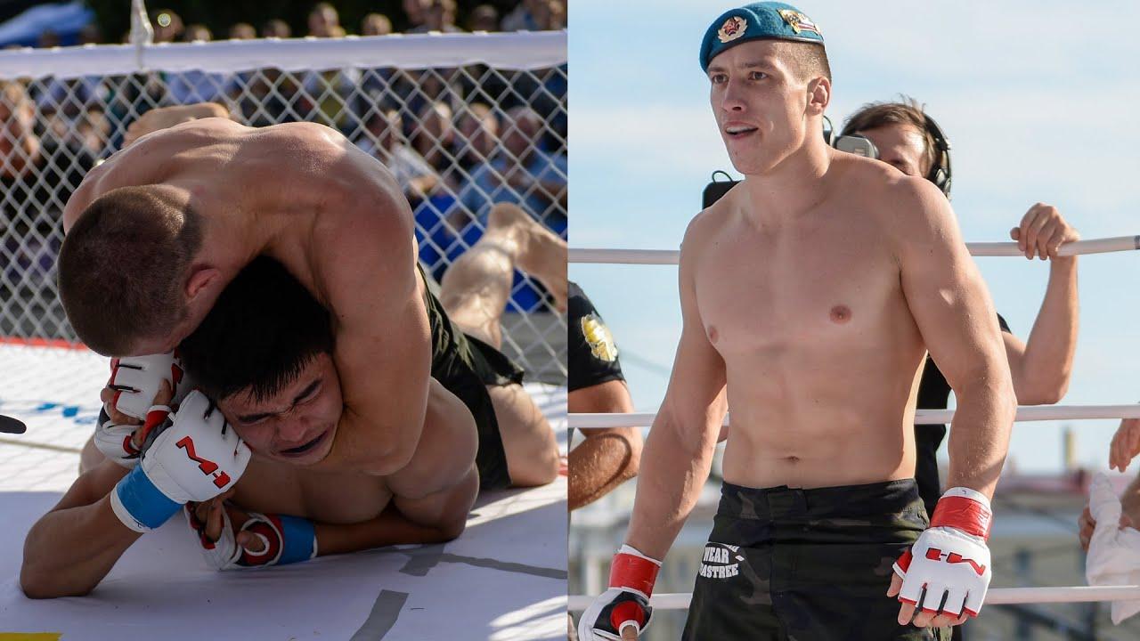 Боец ВДВ показал СИЛУ! ДЕСАНТНИК уничтожил двух соперников подряд! Триумф Антона Телепнева