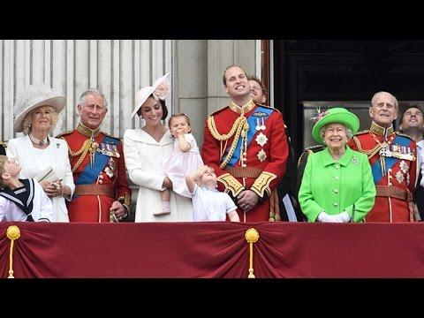 Celebraciones en Londres con motivo del 90.º aniversario del nacimiento de la reina Isabel II